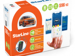 GSM автосигнализация StarLine S96 V2 BT 2CAN+4LIN GSM