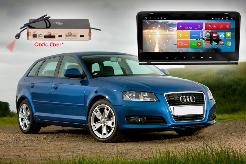 Магнитола для Audi A3 RedPower 51049 IPS DSP ANDROID 8+ 1