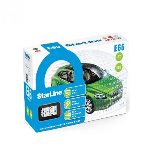 Автосигнализация StarLine E66 BT ECO 1