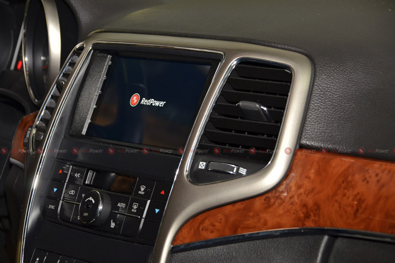 Магнитола для Jeep Grand Cherokee RedPower 51218 IPS DSP ANDROID 8+ 3