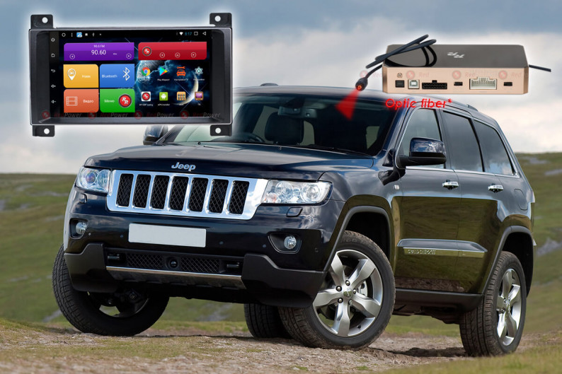 Магнитола для Jeep Grand Cherokee RedPower 51218 IPS DSP ANDROID 8+ 1