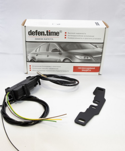 Замок капота и КПП Defen Time Combo Plus Toyota Land Cruiser 200 4.6, Lexus LX 5.7 АКПП 1
