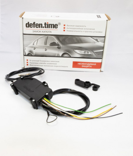 Замок капота и КПП DefenTime Combo Plus Skoda Superb (2015-) DSG-7 1